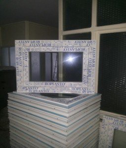 Fabrica de ferestre si usi din pvc cu geam termopan