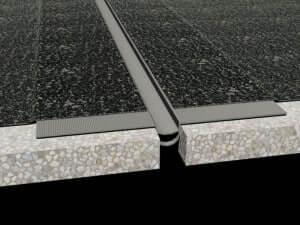 Profil dilatatie acoperis Hidroizolare terasa