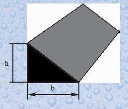 Profil masiv sub forma de triunghi D 20 (coltar cofrag)