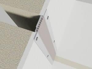 profil dilatatie perete si tavan