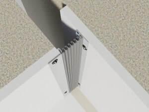 profile dilatatie de colt perete si tavan